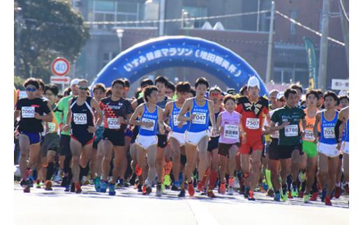 B502 第11回いすみ健康マラソン(増田明美杯)10㎞の部 1名様
