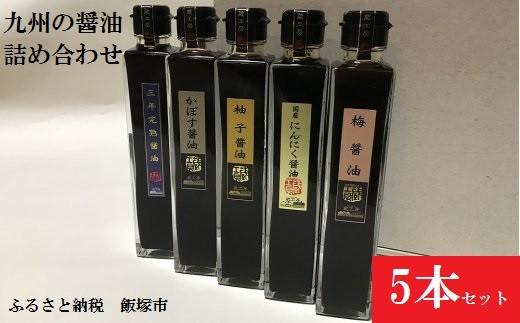 【A-079】創業100年の味 九州の 醤油 詰合せ しょうゆ