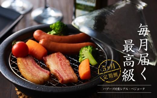 W-3S.【定期便5回】『 燻製(くんせい) 』スモークドーム&イベリコ豚満喫セット(8月~12月)