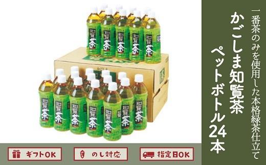 051-01 一番茶のみを使用した本格緑茶仕立てのお茶♪かごしま知覧茶ペットボトル24本