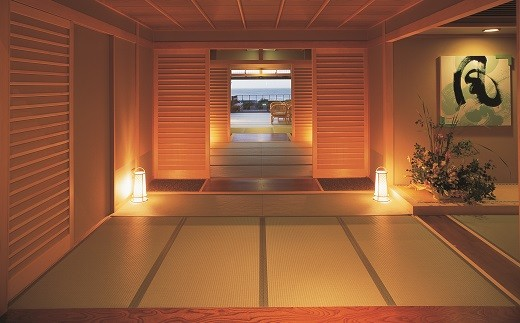【F02】たてやま洲の崎温泉「風の抄」 平日限定宿泊プラン