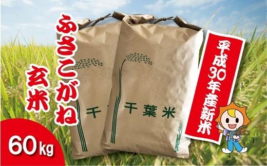 H03-001 平成30年産新米ふさこがね 玄米60㎏