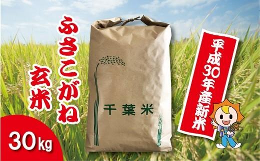 H01-001 平成30年産新米ふさこがね 玄米30㎏