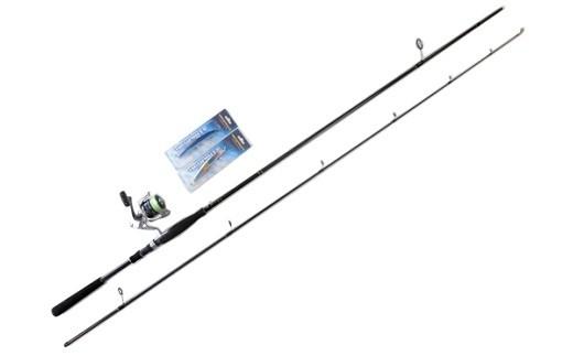 283 遠州灘で釣れる!サーフルアー釣り入門 サーフロッド&リール&ルアー(2個)イシグロオリジナルセット