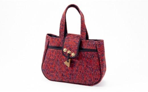 【№02402-0019】(1点もの) 伝統工芸品 南部裂き織 バック
