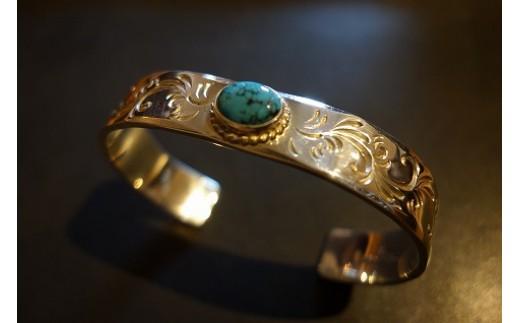 Turquoise Arabesque バングル(12mm)
