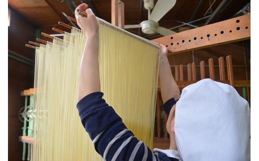 12-096:三州高浜手延べめん 乾麺定期便(計3ケース)