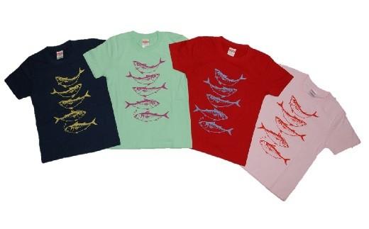 【L-25】ジオ×サバ コラボTシャツ(子供用・綿)