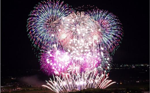 【N3002】小千谷を体感!おぢやまつり花火大会8月25日(土)テーブル席