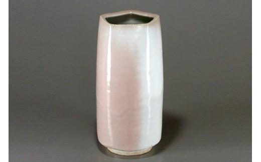 萩焼 窯変五角口花瓶