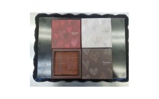 生チョコレート 16個入×4種(スイート、ストロベリー、抹茶、マンゴー)_0N05