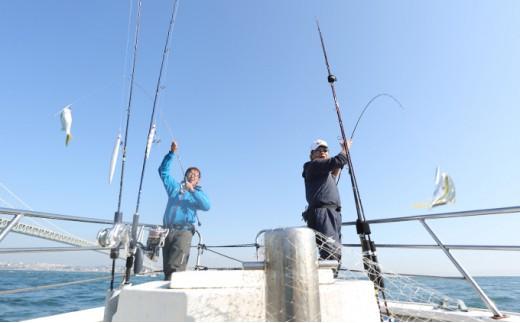 [№5546-0024]釣り船魚英 乗船券
