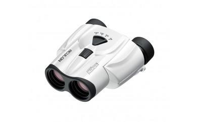 ニコン 災害時などにも役立つポロプリズム双眼鏡 8-24倍25mm アキュロン T11 8-24X25(WH) ホワイト