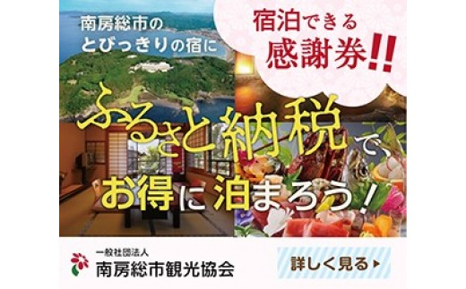 [№5651-0522]南房総市宿泊施設で利用できる感謝券