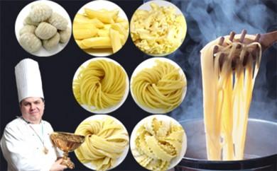 [№5990-0113]パスタ世界チャンピオンの生パスタ7種30食