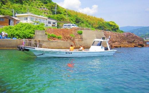 E29-11ファミリー漁業体験クルーズ+海のBBQ(4名様)