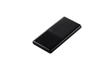 エレコム 災害時などにも役立つ 薄型モバイルバッテリー  DE-M08-N10048BK (ブラック) 容量:10,000mAh