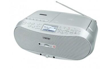 ソニー 災害時などにも役立つワイドFMに対応したCDラジオカセットメモリーレコーダー CFD-RS501