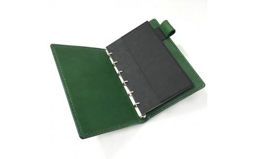 SIRUHA手帳ドイツ製金具と名入れセット1