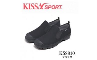 KISSA SPORT キサスポーツ(ブラック) レディース スリッポン KS8810(サイズ:22.0~24.5)【バリエーションBR85a-BR85f-V】