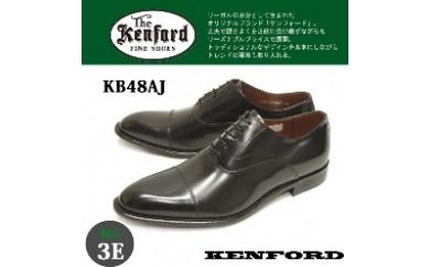 KENFORD ケンフォード 艶感が美しい幅広3Eウィズのストレートチップ ビジネスシューズ KB48AJ(サイズ:24.5~26.5)【バリエーションBR26f-BR26j-V】