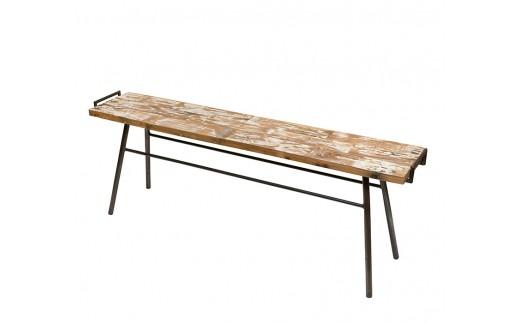 114-01 ロングボードベンチ (kano white)