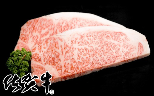 E-145 「佐賀牛」サーロインステーキ300g×2【チルドでお届け!】