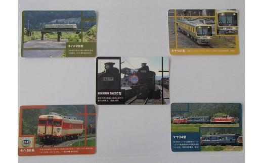 越美北線オリジナルトレーディングカード(5種1セット)
