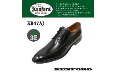 (27.0cm)KENFORD ケンフォード 艶感が美しい幅広3EウィズのUチップ ビジネスシューズ KB47AJ