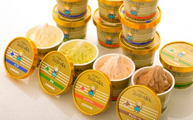 日本一の生乳生産量を誇る別海町で作られた【べつかいのアイスクリーム屋さん】【AA12-C】