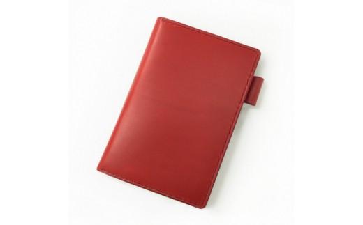 SIRUHA手帳ドイツ製金具と名入れセット(レッド)