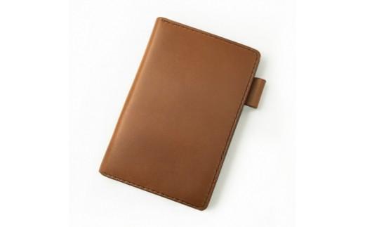 SIRUHA手帳ドイツ製金具と名入れセット(キャメル)