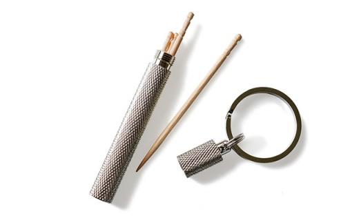 H220 日本製爪楊枝ケースキーホルダー