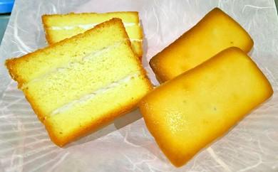 [№5735-0329]おかやま黒豆入米粉ケーキとレモン米粉マドレーヌのセット