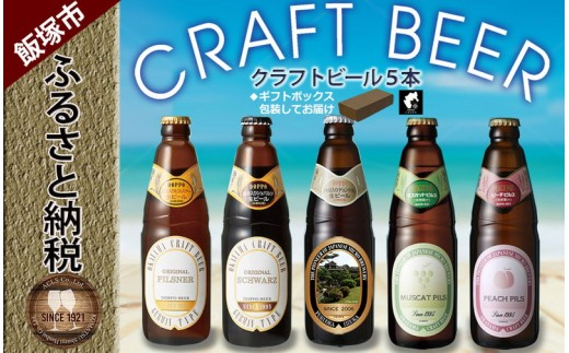 【A2-001】クラフトビール 飲み比べ 5本 ギフトセット ビール