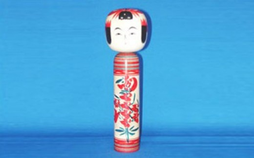 FY18-090 山形土産「尚美堂」 伝統こけし 尺2寸 (小林 清作)