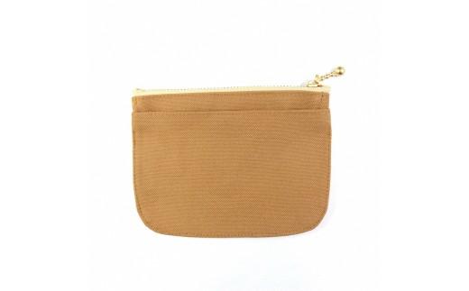 ミニ財布(ライトブラウン)