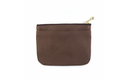 ミニ財布(ブラウン)