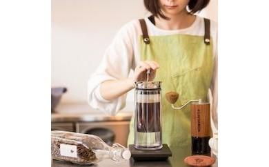 アメリカンプレス AMERICAN PRESSとQグレーダー辻本が選ぶおまかせスペシャルティコーヒー200g【中挽き】