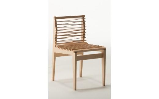 【0025003】Wave chair〈製作:大門 和真〉 ※限定3脚