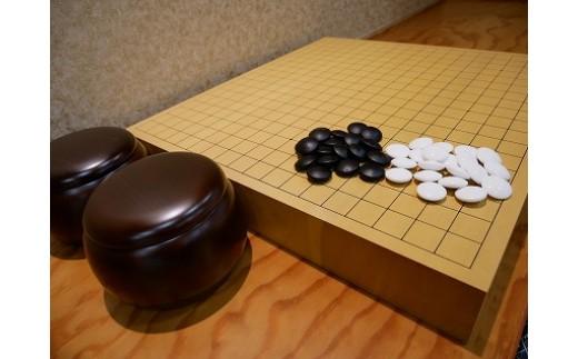 【碁盤】新カヤ20号セット(卓上用)