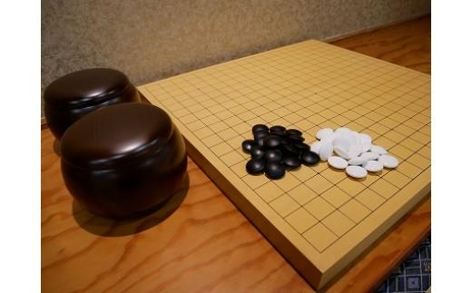 【碁盤】新カヤ10号セット(卓上用)