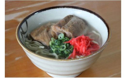 【沖縄そば】ゆたかや 三枚肉・ソーキそばセット(5食分)