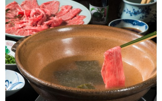 特製かぼすポン酢と一緒に★おおいた豊後牛しゃぶしゃぶセット[約600g]