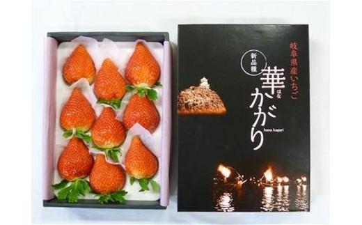 (69)岐阜いちご 華かがり(8玉~12玉  約400g×2箱)