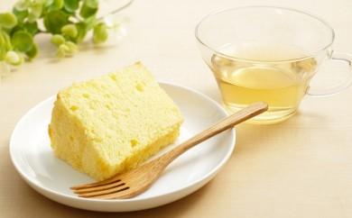 [№5739-0354]無添加&超ふわふわ!シフォンケーキとハーブティーセット