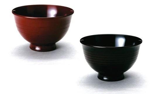 【12P】伝統工芸品~温かみ感じる椀『越前漆器 汁椀ペア』 [B01204]