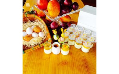 カタラーナ(4個)冷凍チーズプリン(パッションフルーツ,マンゴー各4個)セット