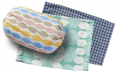 [№5642-0215]北海道十勝足寄 党崎さんが作った手作り小豆枕