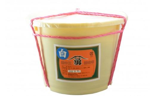 010038 藤勇醸造 樽入り白味噌